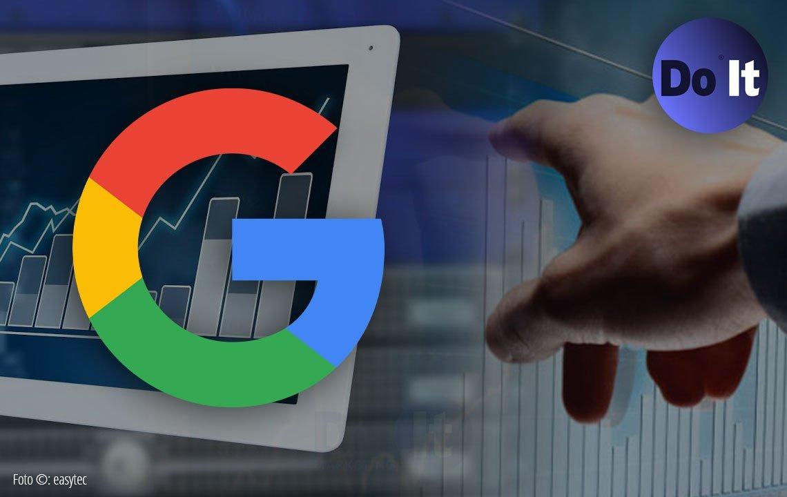 tr´fico a tu sitio web medido en Google