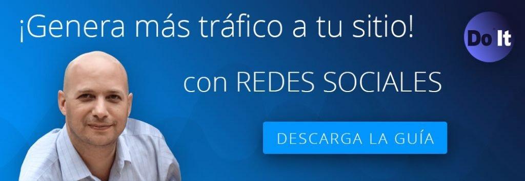 Genera tráfico con redes sociales y seo