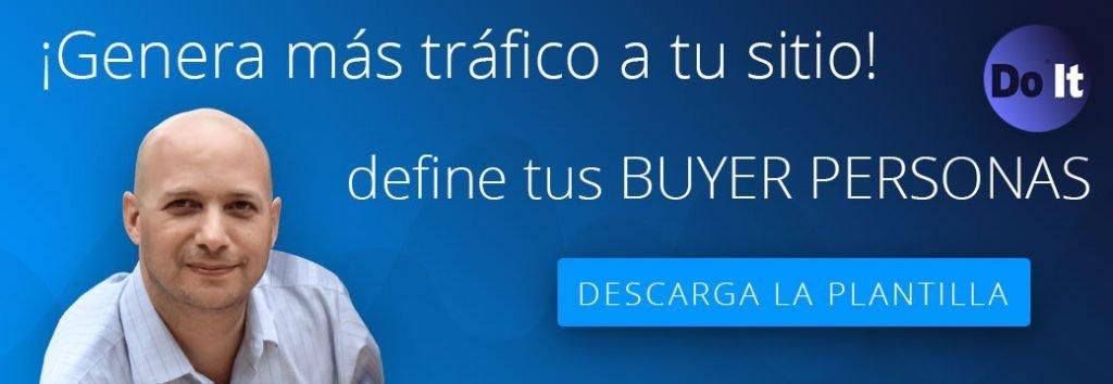 Plantilla para crear Buyer Personas en tu estrategia de marketing de contenidos