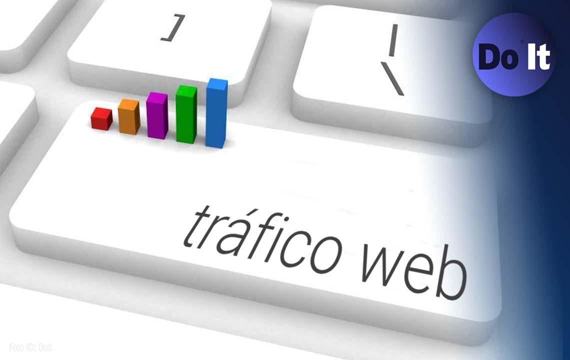 fuentes de tráfico web